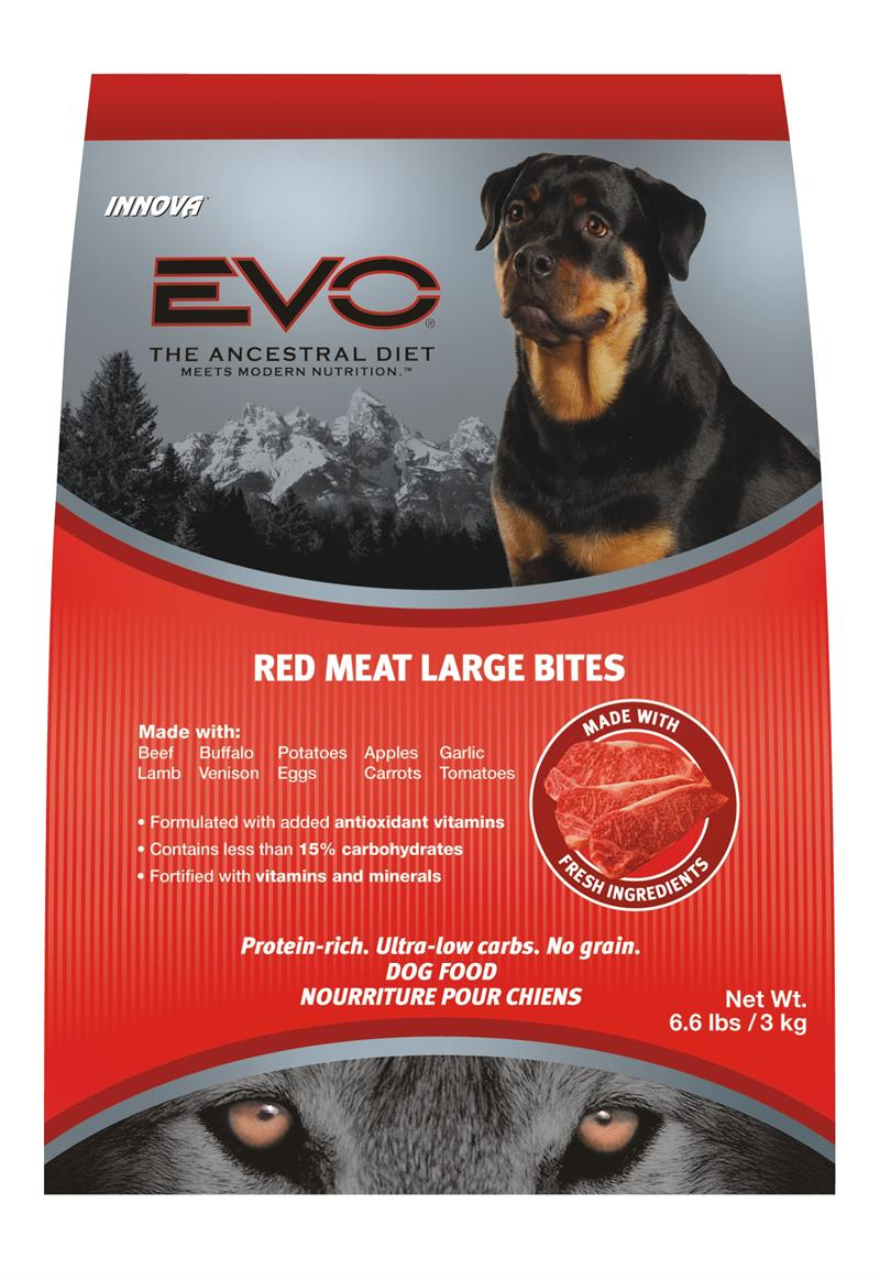evo red meat dog food